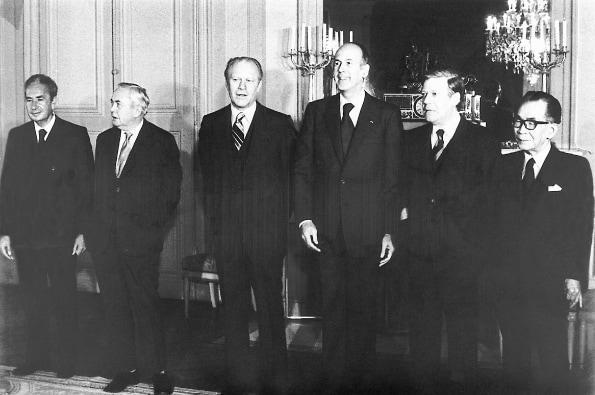 Les leaders mondiaux à Rambouillet