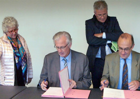 Signature charte MSA