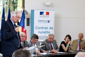 Signature du contrat de ruralité