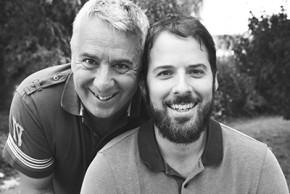 Georges Grard et son fils