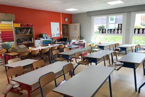 École élémentaire à Saint-Hilarion