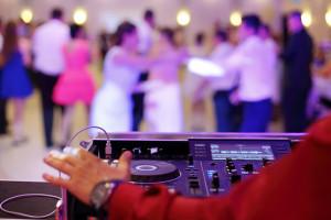 DJ dans une fête