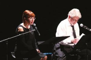 Theatre - acteurs sur scène