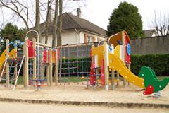 Aire de jeux - Jardin de la motte Rambouillet