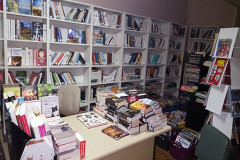 Bibliothèque associative à Boinville-le-Gaillard