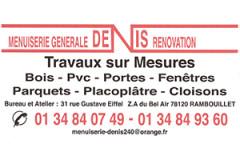 Menuiserie Denis
