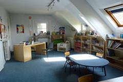 Bibliothèque associative « La Chouette Bibliothèque » à La Boissière-École
