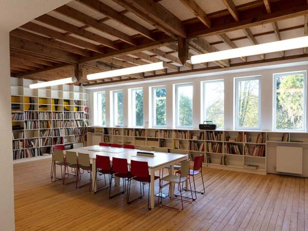 Bibliothèque - La Chapelle