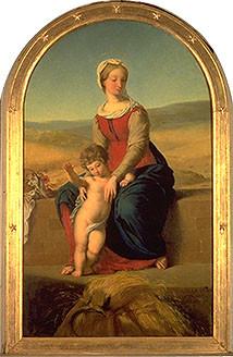 Tableau « La Vierge des Moissons »
