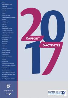 Couverture du rapport d'activités 2017