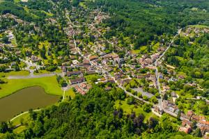 Saint-Léger-en-Yvelines - vue aérienne