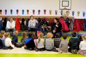Interventions du conservatoire en milieu scolaire