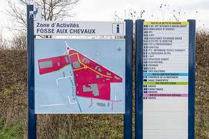 Signalétique - Zones d'activités